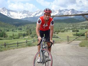 John on bike